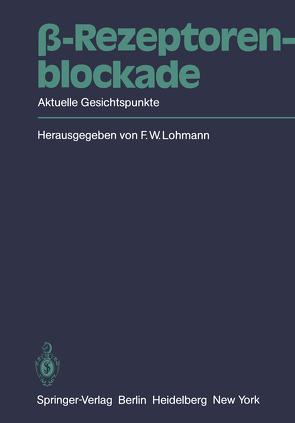 β-Rezeptorenblockade von Lohmann,  F.W.