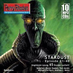07 Perry Rhodan Sammelbox Stardust-Zyklus 21-40 von Baaken,  Renier, Ellmer,  Arndt, Eschbach,  Andreas, Montillon,  Christian