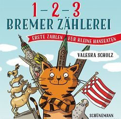1, 2, 3 – Bremer Zählerei von Scholz,  Valeska