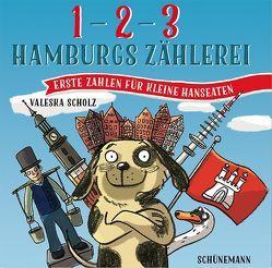1, 2, 3 – Hamburgs Zählerei von Scholz,  Valeska