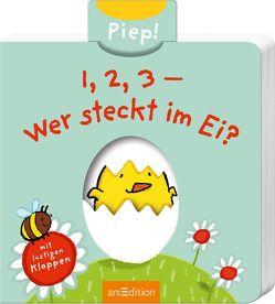 1, 2, 3 – Wer steckt im Ei? von Saleina,  Thorsten