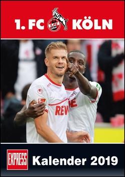 1. FC Köln 2019 – Fußball-Kalender 2019 – Fankalender – 29,7 x 42 cm von Bopp,  Eduard, Bucco,  Herbert