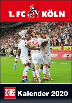 1. FC Köln 2020 – Fußball-Kalender 2020 – Fankalender – 29,7 x 42 cm von Bopp,  Eduard, Bucco,  Herbert