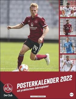 1. FC Nürnberg Posterkalender 2022 von Heye