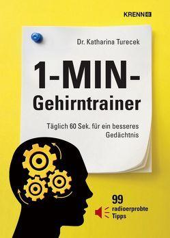 1-MIN-Gehirntrainer von Turecek,  Katharina