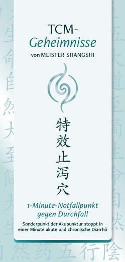 1-Minute-Notafllpunkt gegen Durchfall von Shangshi,  Meister, Thiele,  Andrea