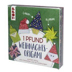 1 Pfund Weihnachts-Origami Papierset von frechverlag