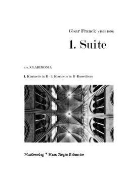 1. Suite f. 1. u. 2. Klar in B u. Bassetthorn von Franck,  César