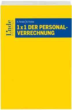 1 x 1 der Personalverrechnung von Portele,  Karl, Portele,  Martina