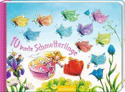 10 bunte Schmetterlinge von Altegoer,  Regine, Mennen,  Patricia