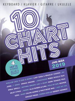 10 Charthits – Jan bis Mär 2019 von Bosworth Edition