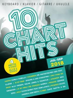 10 Charthits – Jul bis Sep 2018 von Bosworth Edition