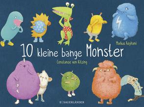 10 kleine bange Monster von Reyhani,  Markus, von Kitzing,  Constanze
