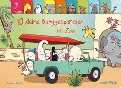 10 kleine Burggespenster im Zoo von Göhlich,  Susanne