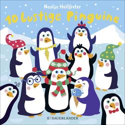 10 lustige Pinguine von Holtfreter,  Nastja