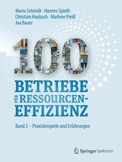100 Betriebe für Ressourceneffizienz von Bauer,  Joa, Haubach,  Christian, Institute for Industrial Ecology INEC, Preiss,  Marlene, Schmidt,  Mario, Spieth,  Hannes