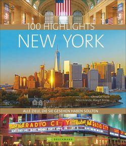 100 Highlights New York von Dr. Margit Brinke,  Dr. Peter Kränzle und, Heeb,  Christian
