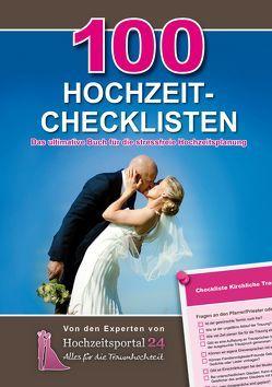 100 Hochzeit-Checklisten von Schulz,  Raffael, Schulz,  Sonja