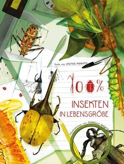 100% Insekten in Lebensgröße von Fogato,  Valter, Grott,  Isabella