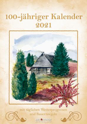 100-Jähriger Kalender 2021 – Wand-Kalender – A&I – 29,7×42 – Wetterprognosen – Bauernregeln