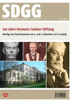 100 Jahre Hermann Credner-Stiftung der Deutschen Gesellschaft für Geowissenschaften von Ehrmann,  Werner, Röhling,  Heinz-Gerd