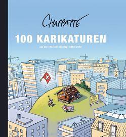 """100 Karikaturen aus der """"NZZ am Sonntag"""" 2002-2012 von Chappatte,  Patrick, Papst,  Manfred"""