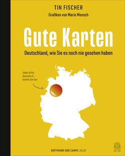 100 Karten, die deine Sicht auf Deutschland verändern von Fischer,  Tin, Mensch,  Mario