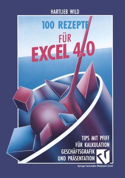 100 Rezepte für Excel 4.0 von Wild,  Hartlieb