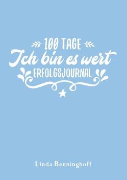 100 Tage – Ich bin es wert (blau) von Benninghoff,  Linda
