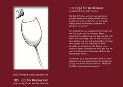 100 Tipps für Weinkenner und solche die es werden wollen