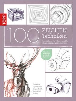 100 Zeichentechniken von Reiter,  Monika, Schlautmann,  Dieter