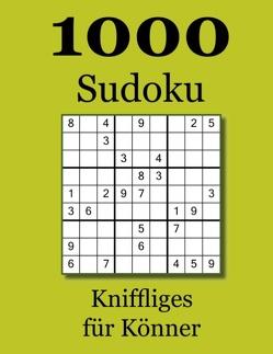 1000 Sudoku von Badger,  David