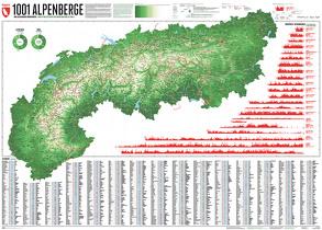 1001 Alpenberge – Edition 3 von Bragin,  Lana, Spiegel,  Stefan