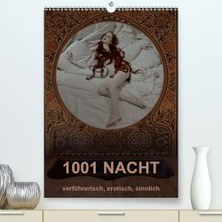 1001 NACHT – verführerisch, erotisch, sinnlich (Premium, hochwertiger DIN A2 Wandkalender 2021, Kunstdruck in Hochglanz) von fru.ch