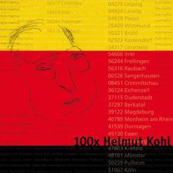 100x Helmut Kohl von Harder,  Burkhard von