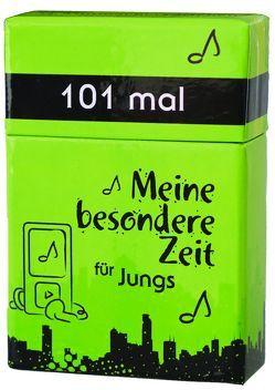 101 mal Meine besondere Zeit – für Jungs von Appel,  Dorothea, Larsen,  Carolyn