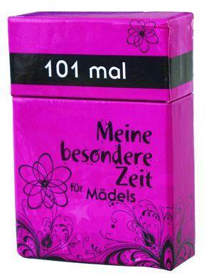 101 mal Meine besondere Zeit – für Mädels von Appel,  Dorothea, Larsen,  Carolyn
