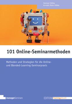 101 Online-Seminarmethoden von Häfele,  Hartmut, Häfele-Meier,  Kornelia