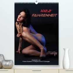 102,2° Fahrenheit – Aktstudien (Premium, hochwertiger DIN A2 Wandkalender 2021, Kunstdruck in Hochglanz) von R. Brüngger,  Jimmi