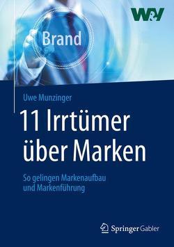 11 Irrtümer über Marken von Munzinger,  Uwe