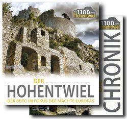 1100 Jahre HOHENTWIEL – Das Paket: CHRONIK & BUCH von Häusler,  Bernd, Hellmuth,  Gero, Kappes,  Reinhild, Kessinger,  Dr. Roland, Kuhn,  Hans-Dieter, Peter,  Klaus-Michael, Wöllper,  Jörg