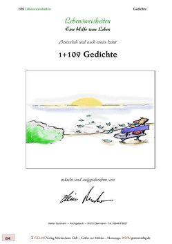 1+109 Gedichte von Dustmann,  Heiner