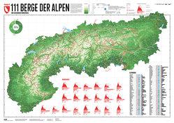 111 Alpenberge von Bragina,  Lana, Spiegel,  Stefan