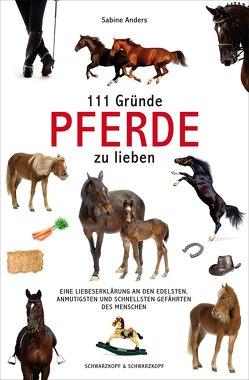 111 Gründe, Pferde zu lieben von Anders,  Sabine