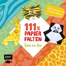 111 x Papierfalten – Tiere im Zoo von Precht,  Thade