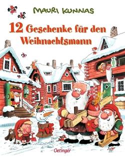 12 Geschenke für den Weihnachtsmann von Kunnas,  Mauri, Kunnas,  Tarja, Pyykönen-Stohner,  Anu, Stohner,  Friedbert