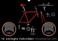 12 zerlegte Fahrräder 2020 von Isendyck,  Jürgen