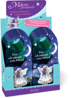 12er VE Maluna Mondschein. Schimmerflimmer Leucht-Maluna von Kraus,  Tina, Schütze,  Andrea