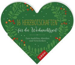 16 Herzbotschaften für die Weihnachtszeit von Groh Kreativteam