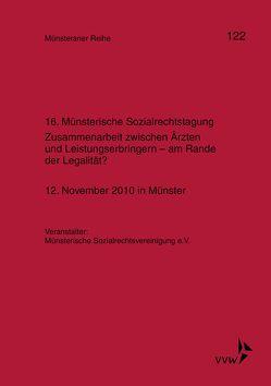 16. Münsterische Sozialrechtstagung von Dörner,  Heinrich, Ehlers,  Dirk, Pohlmann,  Petra, Schulze Schwienhorst,  Martin, Steinmeyer,  Heinz-Dietrich